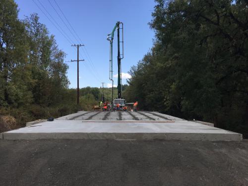 Alpine Bridge Replacement Benton County Oregon
