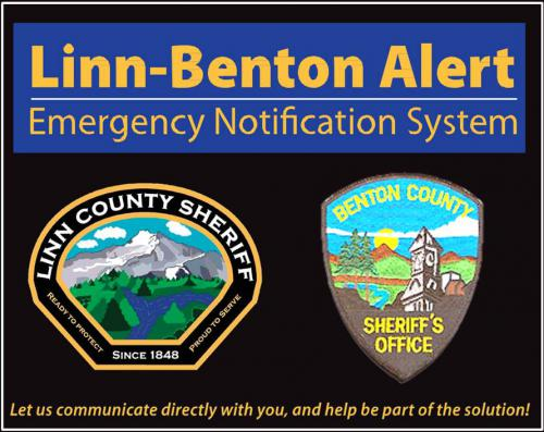 Emergency Alert Benton County Oregon