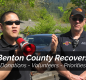 county and city emergency staff address the community