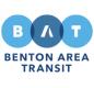 Benton Area Transit (BAT) Primary Horizontal Logo